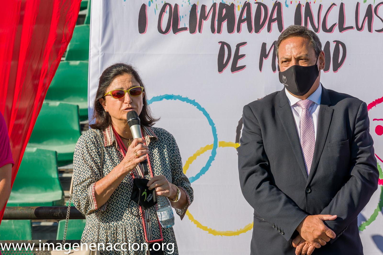 FUND. DOWN MADRID  1ª OLIMPIADA INCLUSIVA DE MADRID