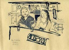 Scène de bar / In the bar