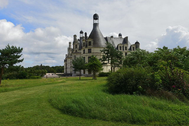 Castle of Chambord, France, August 2021 132