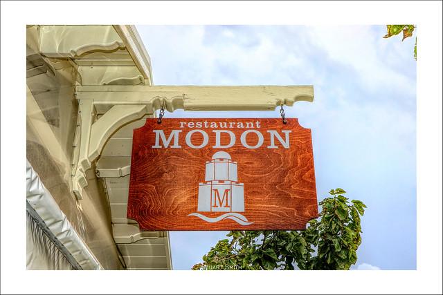Modon Restaurant, Beach Square, Methóni, Messenia, Peloponnese, Greece