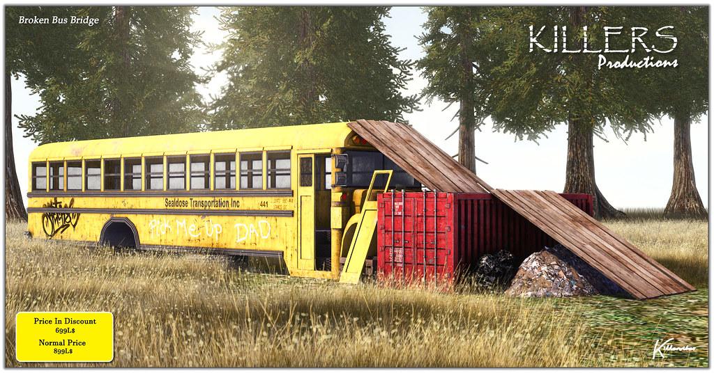 """Killer's"" Broken Bus Bridge On Discount @ Tres Chic Start from 17th Sept"