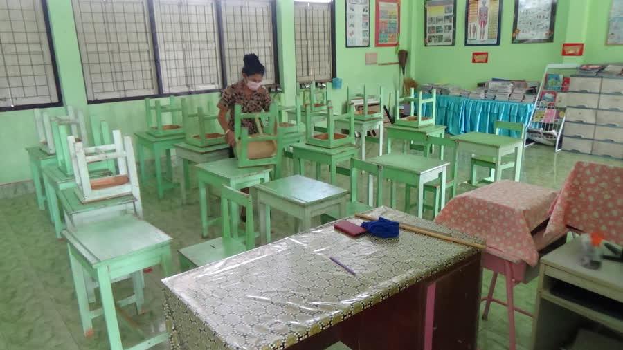 ปิดโรงเรียนช่วง COVID-19