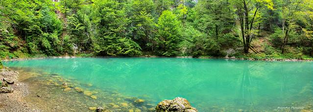 Panorama izvora rijeke Kupe