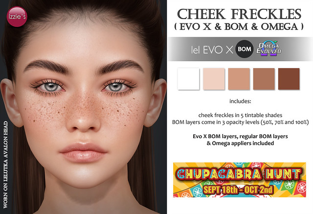 Cheek Freckles (Chupacabra Hunt)