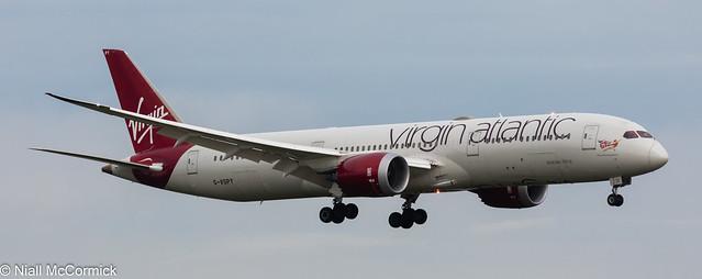 G-VSPY Virgin Atlantic Airways Boeing 787-9 Dreamliner