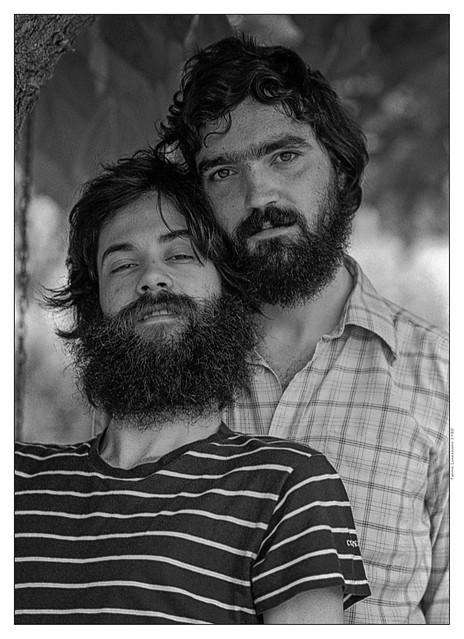 Toni and Josetxo (memories). Bellaterra, 1980