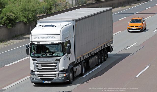 KJ 9461 Scania 02-07-2020 (Germany)