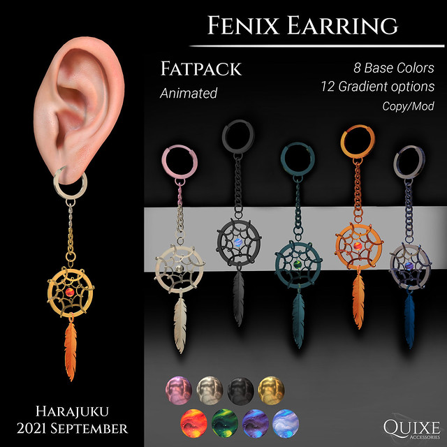 QUIXE - Fenix Earring