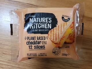 Nature's Kitchen Cheddar Slices