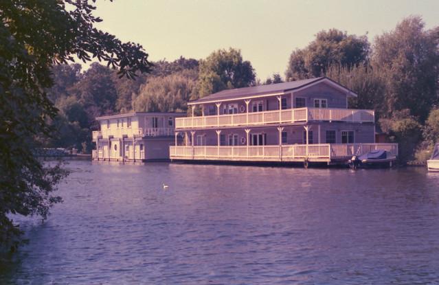 Canon FX Kodak Gold 1995 Boat House