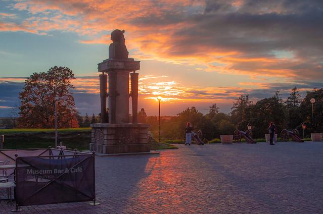 Uppsala sunset
