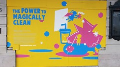Kiddie murals 'Musings on Magic' on the exterior of The Curran, hosting 'Harry Potter and the Cursed Child' (Saturday - 18 September 2021) (2)