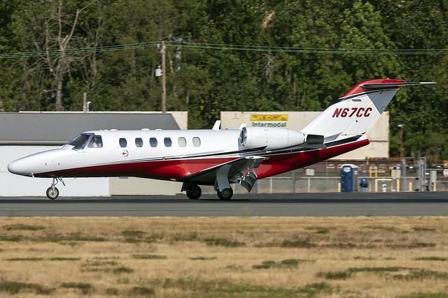 N67CC - Cessna 525A CitationJet CJ2 - KBFI - 07 Sept 2021