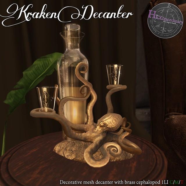 HEXtraordinary - Kraken Decanter - Engine Room