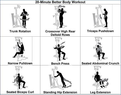Bowflex workout #1