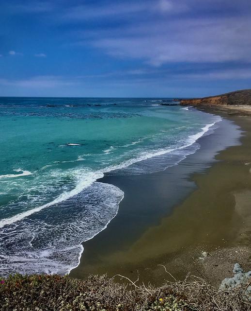 Laguna Beach, @ Pt Cruz. North Coast of SLO county