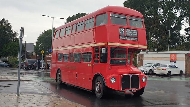Ex London Transport RML2738 (SMK 738F) Chichester 19/9/21