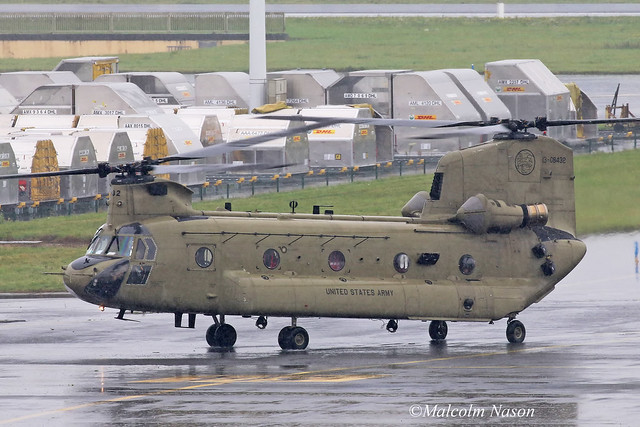 BOEING CH-47F CHINOOK 13-08432 US ARMY