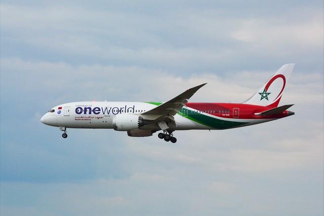 (ORY) RAM Boeing 787-8 Dreamliner CN-RGB