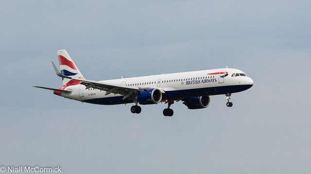 G-NEOU British Airways Airbus A321-251NX