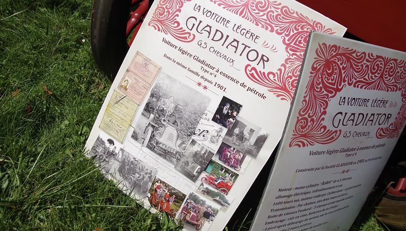 Gladiator 6,5 Chevaux 1901 - Grossay (78) Art Automobile 2021 51491515761_808288c6c7_c