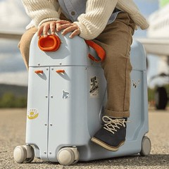 JetKids by Stokke BedBox - Kid's Ride-On Suitcase & In-Flight Bed
