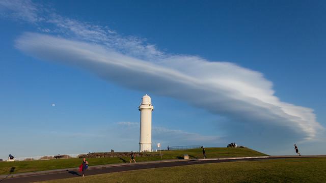 Long cloud in the Gong