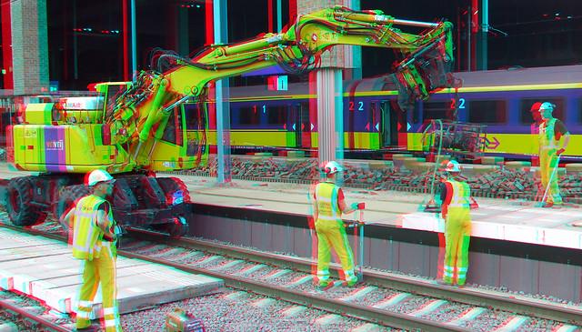 werkzaamheden spoor Station BREDA 3D
