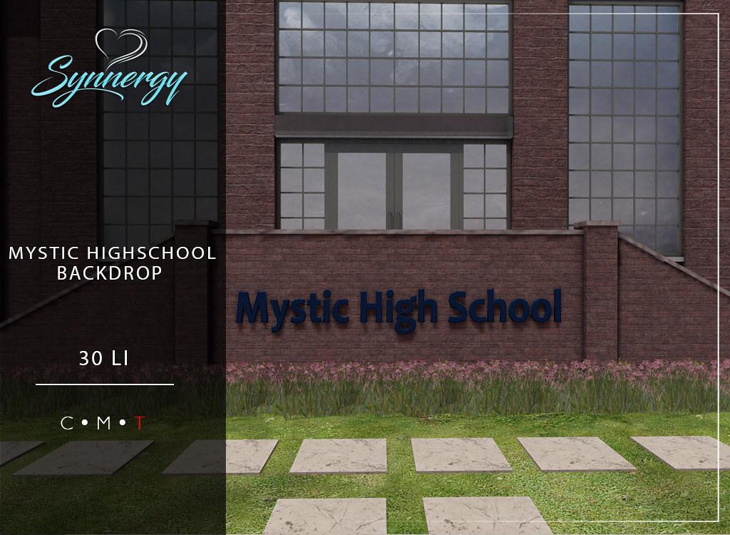 Mystic Highschool Backdrop @ TLC