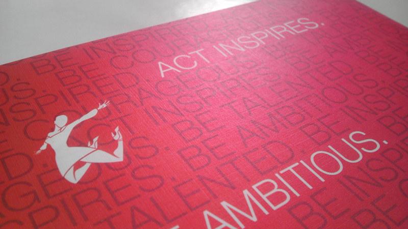 ACT Inspires Back of Letterhead