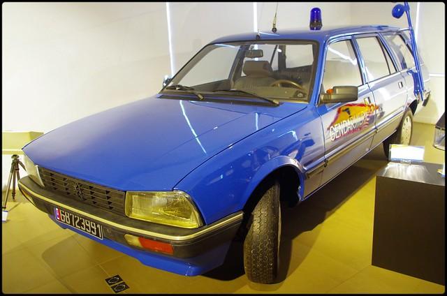 Peugeot_505 Break, Gendarmerie Nationale (F)
