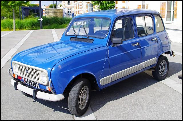 Renault_4L, Gendarmerie Nationale (F)