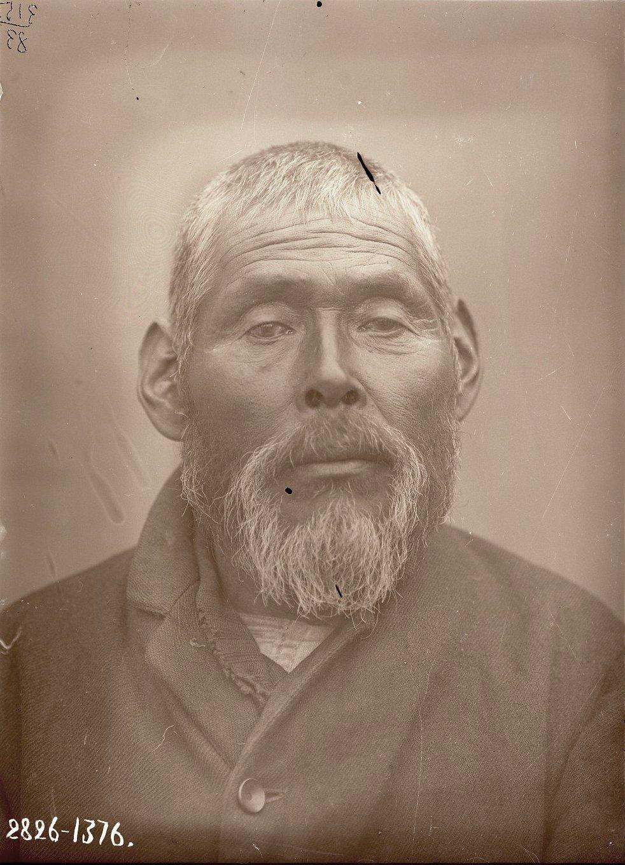 1909. Июнь - июль.  Дмитрий Прокопьев (фас). Атту остров