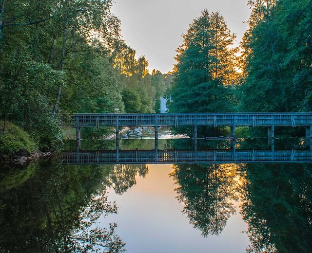 Reflecting Footbridge