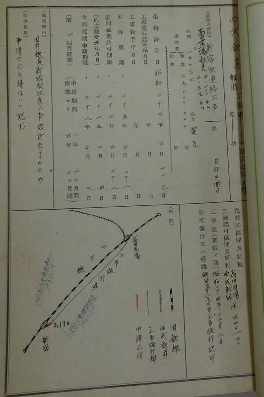 西武新宿線国鉄新宿駅(マイシティ・ルミネスト)延伸撤退公文書 (13)