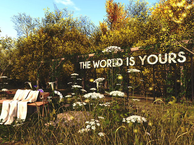 Kami Lounge - The World Is Yours