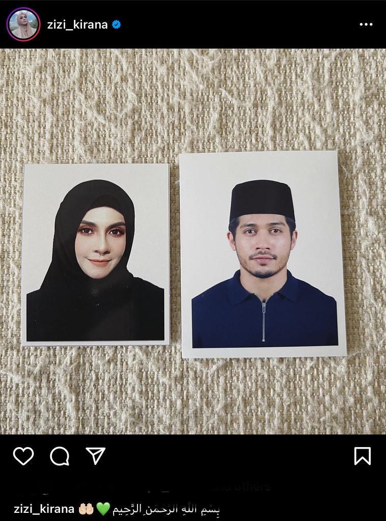 'Sedang Disolek, Jangan Gagap' - Zizi Kirana, Yusuf Bahrin Beri Bayangan Diijabkabul Hari Ini