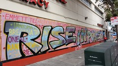 BLM mural on 23rd St. Walgreens