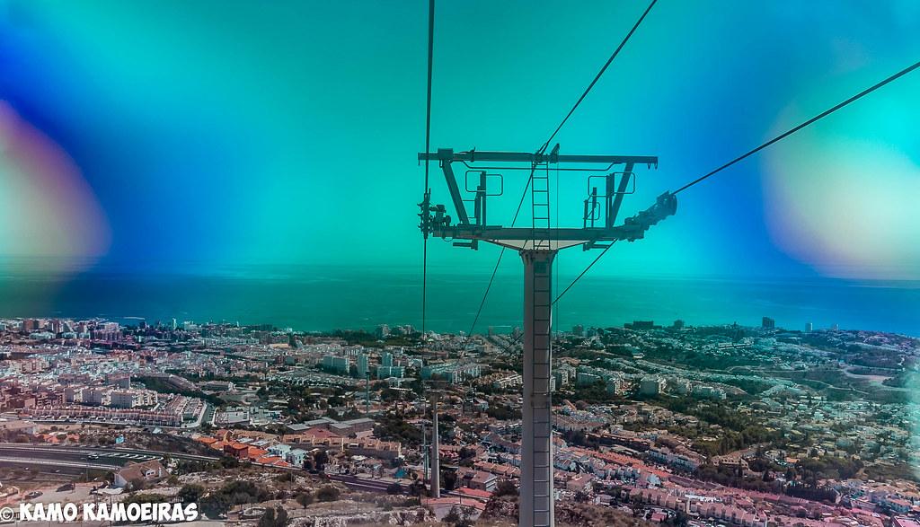 torre telesferico benalmadena, psicodelica panoramica