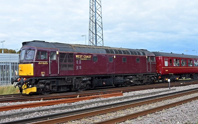 33025 WCRC - Havant 16.35, working the 1Z14 Southampton Central to Chichester, Sunday 19th September 2021