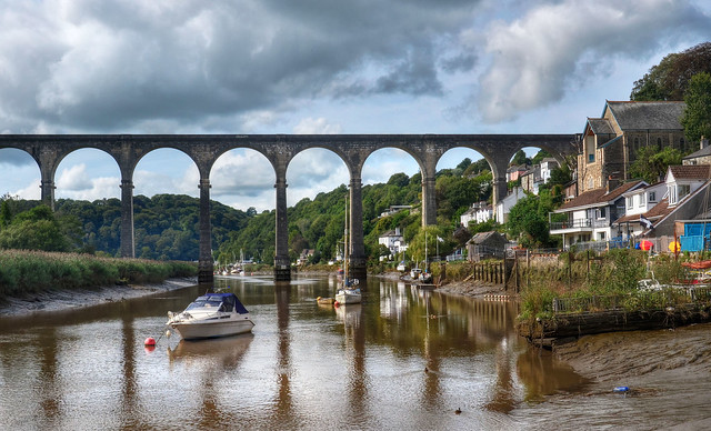 The viaduct at Calstock, Cornwall