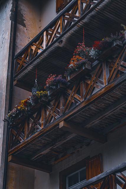 dark balcony