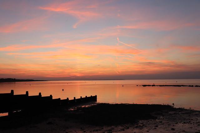 Sunset Herne Bay West