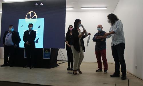 Cerimónia de entrega de prémios aos vencedores da 6ª edição das Curtas Metragens de Fânzeres e São Pedro da Cova