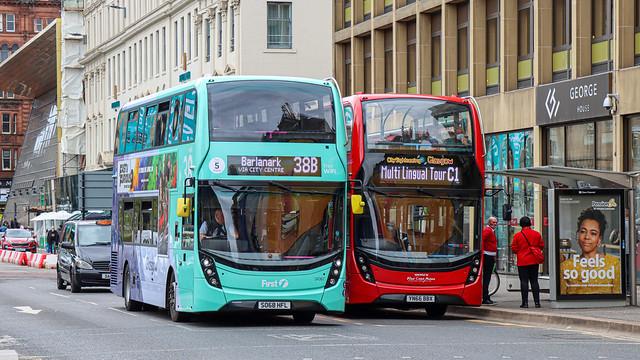 Glasgow Enviro400s