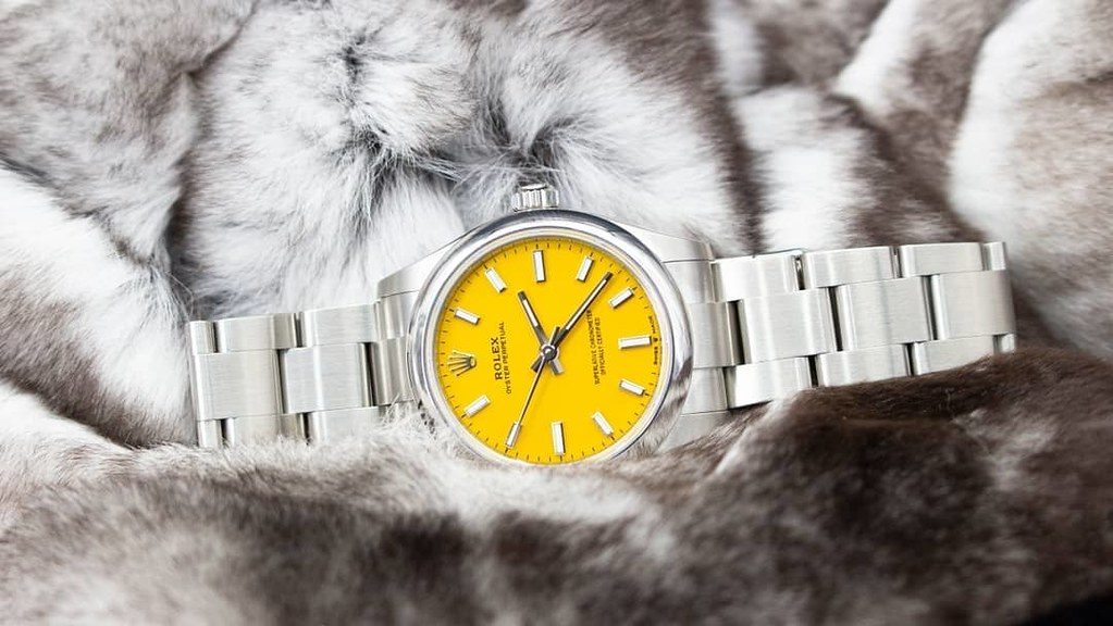 Rolex Oyster Perpetual 31 (Ref 277200) 'Yellow Dial' - Full Set Including Box and Papers 2021 Unworn - £6500  For enquiries or to arrange a viewing :-: Call 0203 380 1542 Website :-: www.imperialtime.co.uk Email :-: info@imperialtime.co.uk #imperial