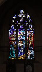Vitrail d'église Saint-Martin de Brionne