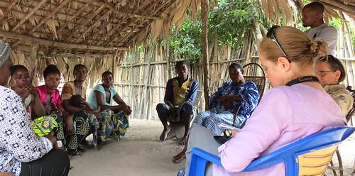 with women of Lukunda
