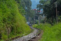 Sri Lanka Railways Class S12 Powerset at Upcountry Railway Station