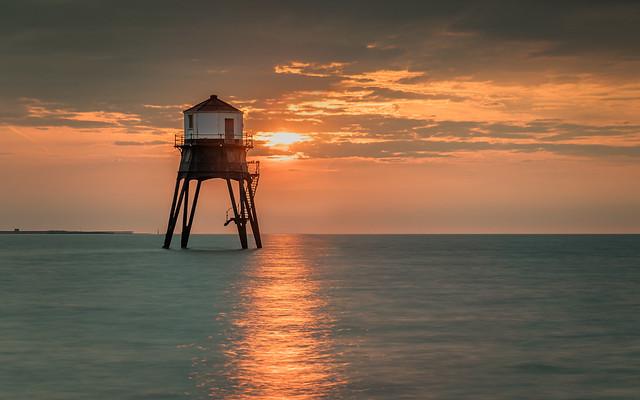 Sunrise Over Dovercourt Lighthouse
